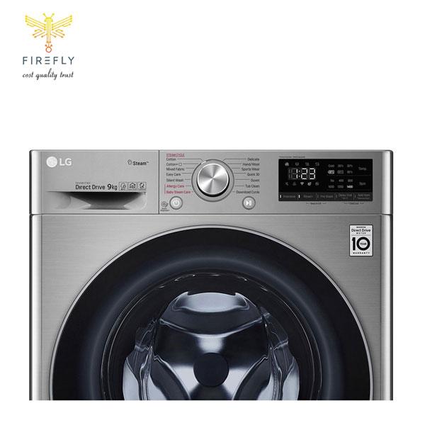 ماشین لباسشویی 9 کیلویی ال جی