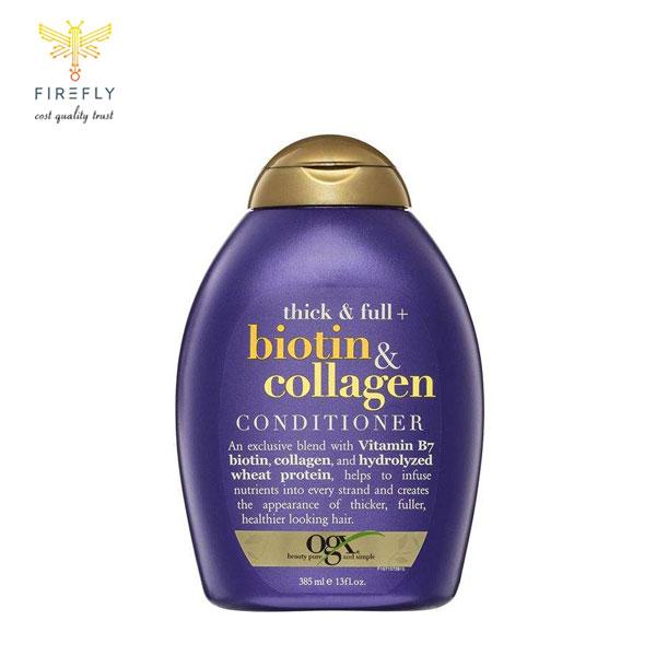 شامپو بیوتین و کلاژن او جی ایکس (OGX) اصل   ضد ریزش و ضخیم کننده مو