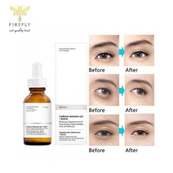 سرم کافئین اوردینری - روشن کننده و ضد تیرگی و پف دور چشم